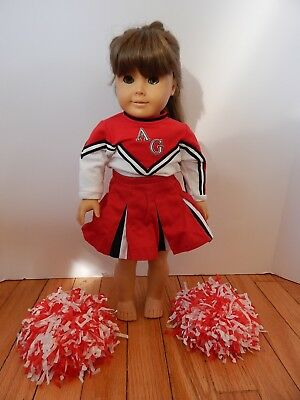 American Girl Doll Molly with Cheerleading Outfit Pleasant Company
