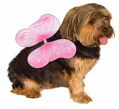 NEW Pink Fairy Wings for Dogs/Pets Size S / M Rubie's Pet Shop Boutique #886868