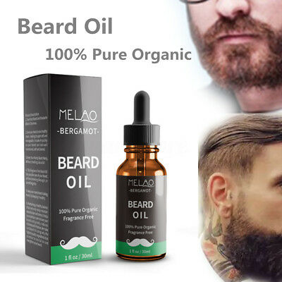 30ml Organic Beard Oil Beard Growth Moisturizing Conditioner Mustache Oil Care