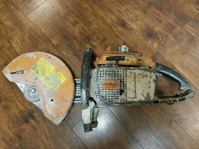 "Stihl TS760 CutQuick Concrete Cut-Off Saw 6.5hp 111cc 14"" Handheld Gas Powered"