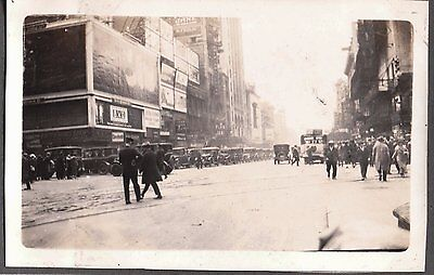 1924 New York Advertising Coney Island Luna Cars Colored Beauty Parlor Old Photo