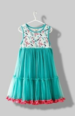 NEW MATILDA JANE Once Upon A Time Girls Merry Mood Dress 8 years w/Tag