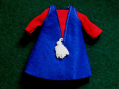 Vintage Ideal Dodi Doll Dress Original 1960's Tammy Pepper Family Japan w/ Tag!