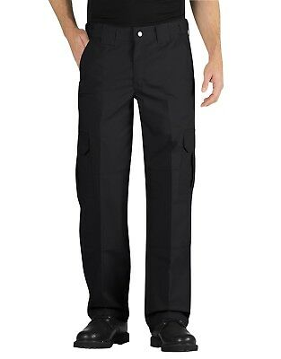 Dickies Black Tactical Relaxed Fit Straight Leg Lightweight Ripstop Pants LP703
