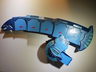 Yu-Gi-Oh Blue Duel Disk Chaos Card Launcher Broken As Is Cosplay