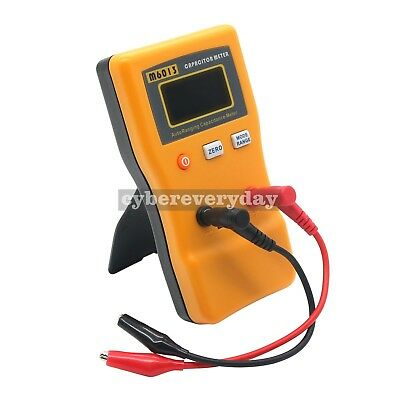 LCD Digital Capacitor Capacitance Tester Meter Auto Range Multimeter in UK