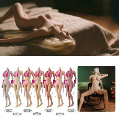 JIAOU DOLL 1/6 Scale Female Body JOQ 07 Big Breast with Feet Skeletion No HeadEG