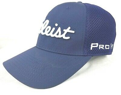 TITLEIST PRO V1 FOOTJOY By NEW ERA Men's Fitted Golf Hat Size Medium-Large Blue