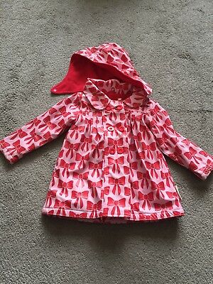 Beauty and the Bib Pink Bow Coat Age 3 - 4 Years
