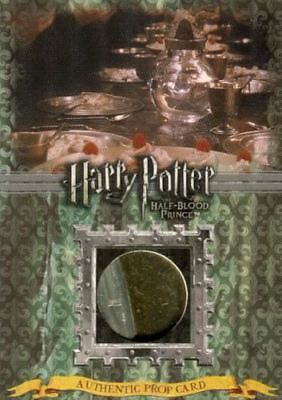 Harry Potter Half Blood Prince Update Slytherin Dishes Prop Card Ci2 HP #175/180