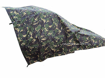 British Army Dpm Camouflage Basha - Grade 1 Condition - Deal