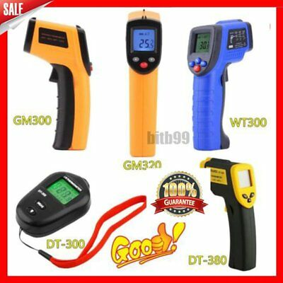 Handheld Digital LCD Temperature Thermometer Laser Non-Contact IR Infrared FY