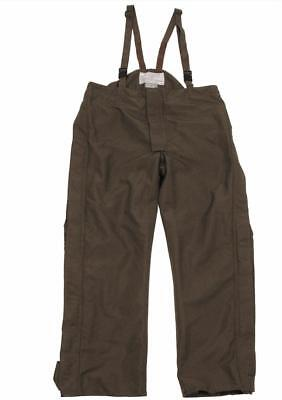 Austrian army surplus goretex waterpoof olive trousers
