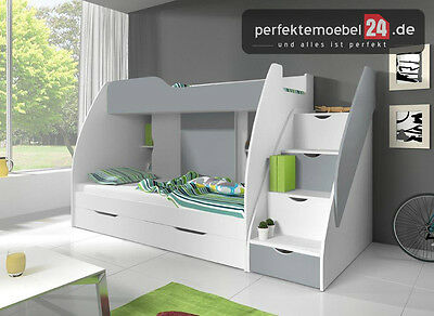 regal bett kinder jugendzimmer set multifunktionsbett schrank hochbett pm rja218 eur 799 87. Black Bedroom Furniture Sets. Home Design Ideas