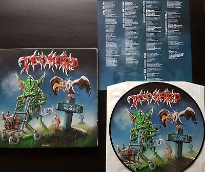 Tankard Vinyl - One Foot In the Grave Pictures Disc