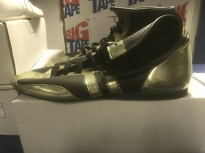 Leather Boxingboots size 1
