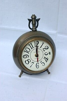 Nautical Antique Brass Finish Desk Top Table Clock  Replica Vintage Gift Item