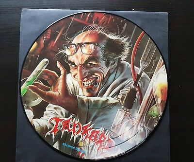 Tankard Vinyl Chemical Invasion Picture Disc Noise Records.