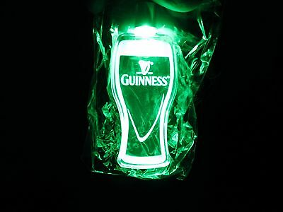 Guinness Stout Party Necklace Light! Rare! Vintage! Perfect For Clubs, Parties!
