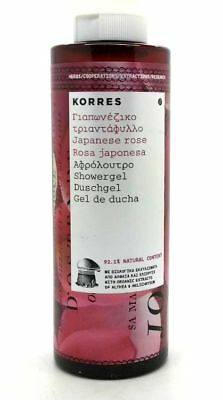 Korres Japanese Rose Refreshing Shower Gel 250ml New