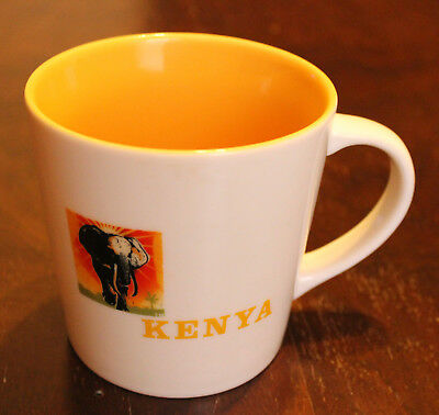 Starbucks Coffee Mug Kenya Africa Arabia Elephant Original Series 2005 16 oz