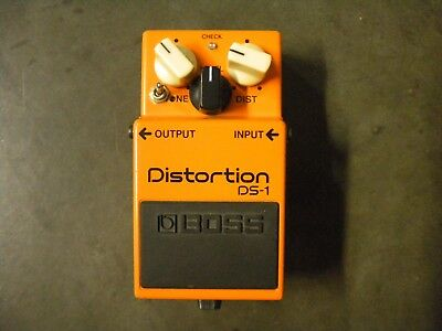 BOSS DS-1 DS 1 DS1 Distortion with Keeley Seeing Eye Mod Guitar Effect Pedal