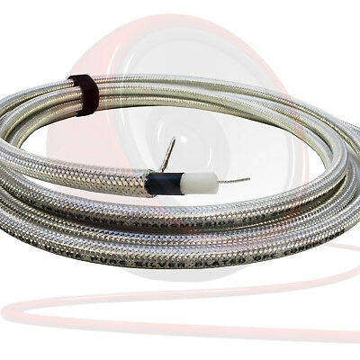 Van Damme Silver Series 55pF Low Capacitance Guitar Cable. 268-900-055
