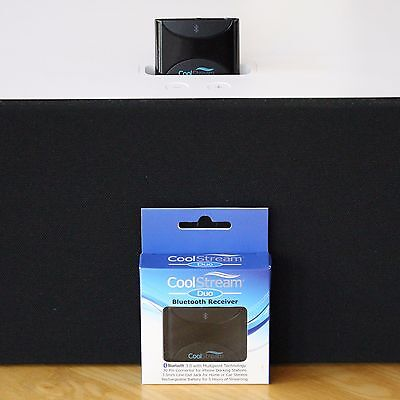 Apple iPod HiFi Speaker Bluetooth Adapter with 30 Pin Connector by CoolStream
