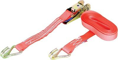 Warrior Ratchet Strap 1 Tonne with Claw Hooks 5m x 25mm - 1000kg Rated - BDV1571