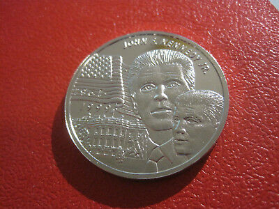 Liberia 1999 5 Dollars, Kennedy, 38mm,28gr.   #473