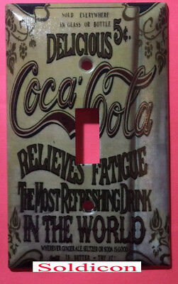 Coke Coca-Cola Delicious Poster Light Switch Outlet wall Cover Plate Home Decor