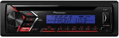 Pioneer deh-s100ubb Car Radio USB CD Receiver, Vehicle with Front Aux-In, Wied