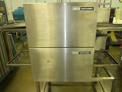 Lincoln Impinger electric double stack oven model 1132 pizza sub oven