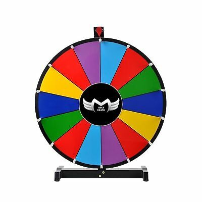 """MegaBrand 24"""" Tabletop Spinning Prize Wheel 14 Slots with Color Dry Erase"""