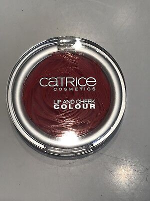 Catrice Lip And Cheek Colour C02 Rot Rosebuddy Limited Edition Lippen Wange Crem