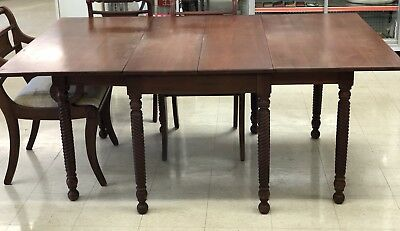 Consider H Willett Cherry Rope Drop Leaf Table