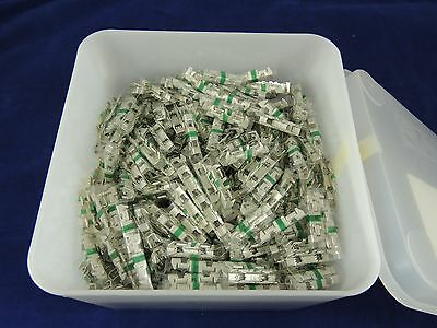 TYCO AMP 60945-4 Green Picabond Splicing Splice Connectors 1 Lot 100