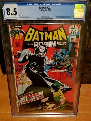 Batman # 237 CGC 8.5 Ow/White (DC, 1971) Neal Adams cover. Newly graded.