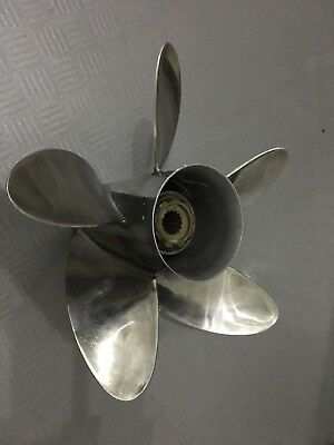 Mercury MerCruiser High Five Propeller 48-815748-26 5 Blade Prop Edelstahl