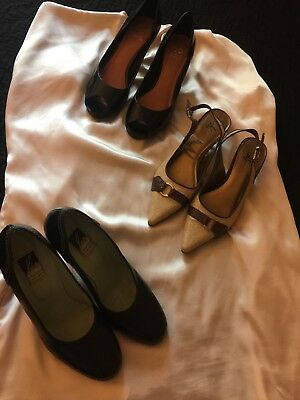 womens shoes heels size 7, 7.5 lot. Vince Camuto, Charles Jourdan, life stride.