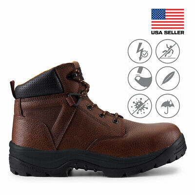 Maelstrom® Utility Fit Men's 6''  Waterproof Work Boots for Construction Safety