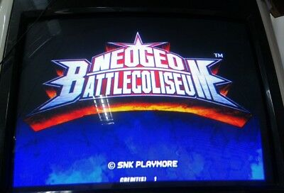 Neo Geo Battle Coliseum With Atomiswave Mother Board Jamma Arcade Game SNK