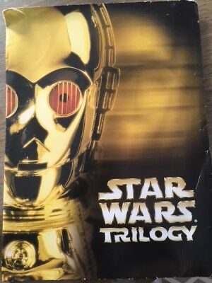 Star Wars Trilogy, color slides, promotional materials