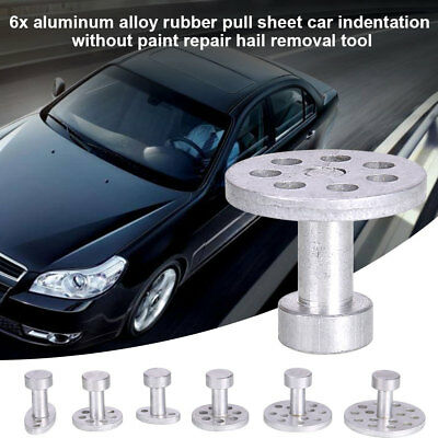 6PCS Puller Lifter Remover Car Body Dent Hail Removal Kit Paintless Repair Tool