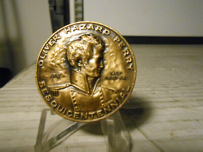 Oliver Hazard Perry Sesquicentennial Medal! / Uss Niagara Uncirculated Condition