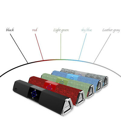 Mini Bluetooth Speaker Wireless Vivavoce Cassa Portatile Mp3 per Viaggio Feste