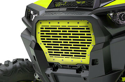 Custom Steel Grille for 2017+ Polaris RZR Turbo 1000 XP Grill Lime Squeeze BRKS