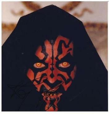 Ray Park (Star Wars Darth Maul) Orig. Autogramm !