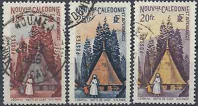 New Caledonia N°275/276/277 - Obliteration Stamp Has Date
