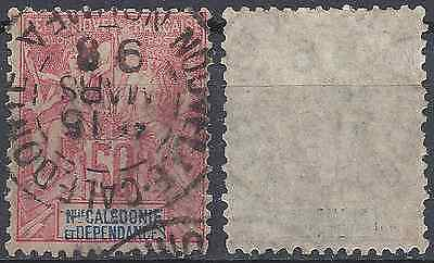 Colony New Caledonia N°51 - Obliteration Stamp Has Date - Value